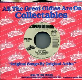 """The Hooters - All You Zombies / And We Danced (7"""", Single)"""