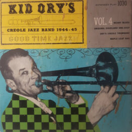 """Kid Ory And His Creole Jazz Band - Vol. 4 (7"""", EP, Red)"""