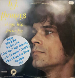 B.J. Thomas - Sings His Favorites (LP, Album)