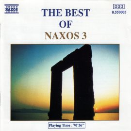 Various - The Best Of Naxos 3 (CD, Comp)