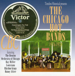 Various - The Chicago Hot Bands 1924-1928 (CD, Comp, RM)