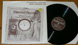 Benny Goodman - The Rehearsal Sessions (LP)