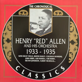 "Henry ""Red"" Allen And His Orchestra - 1933-1935 (CD, Comp)"
